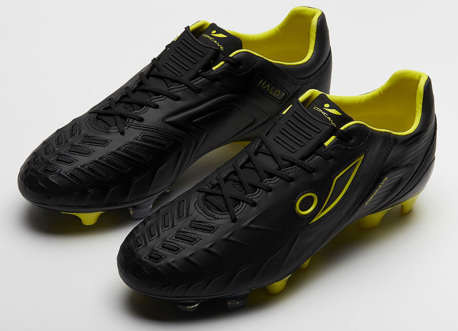 Concave Halo + Leather Neon Surge FG - Black / Neon Yellow