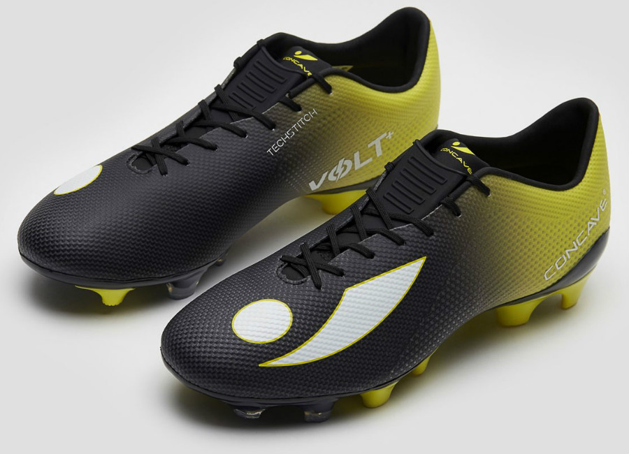 Concave Volt + Techstitch FG - Black / Neon Yellow