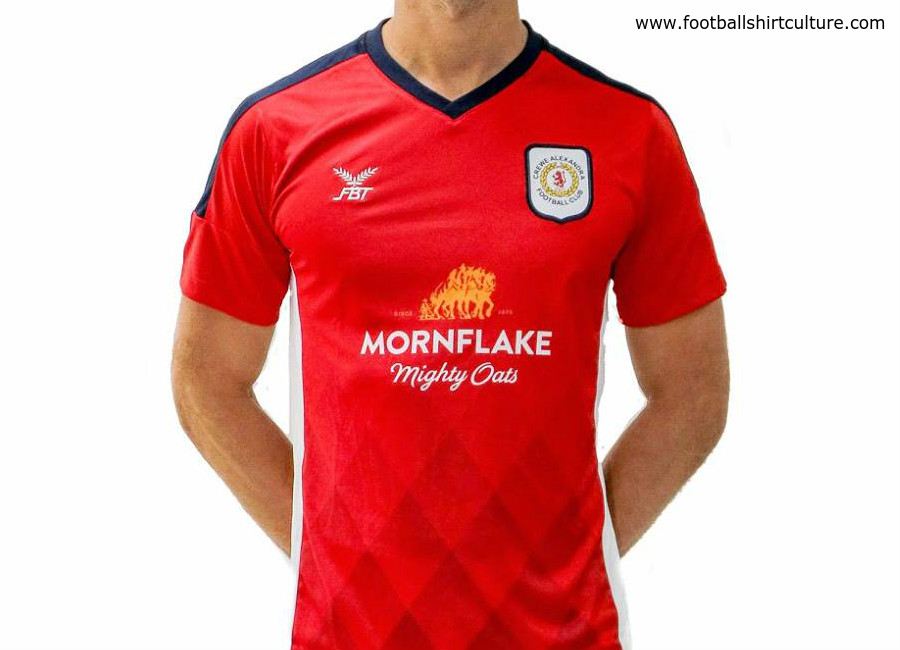 Crewe Alexandra 2018-19 FBT Home Kit