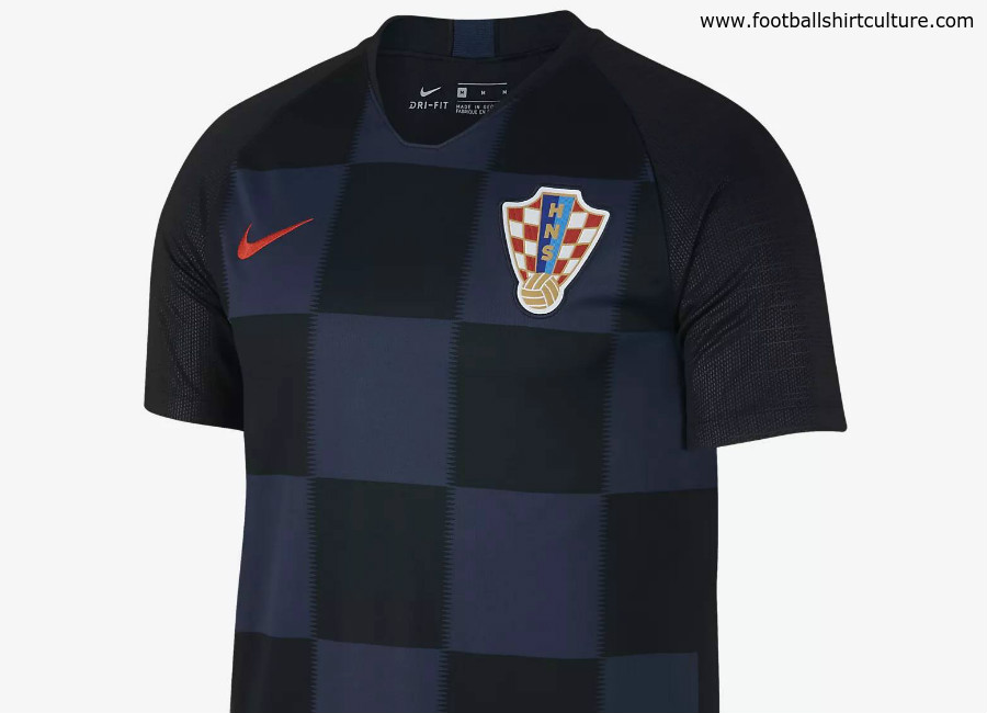 Croatia 2018 World Cup Nike Away Kit
