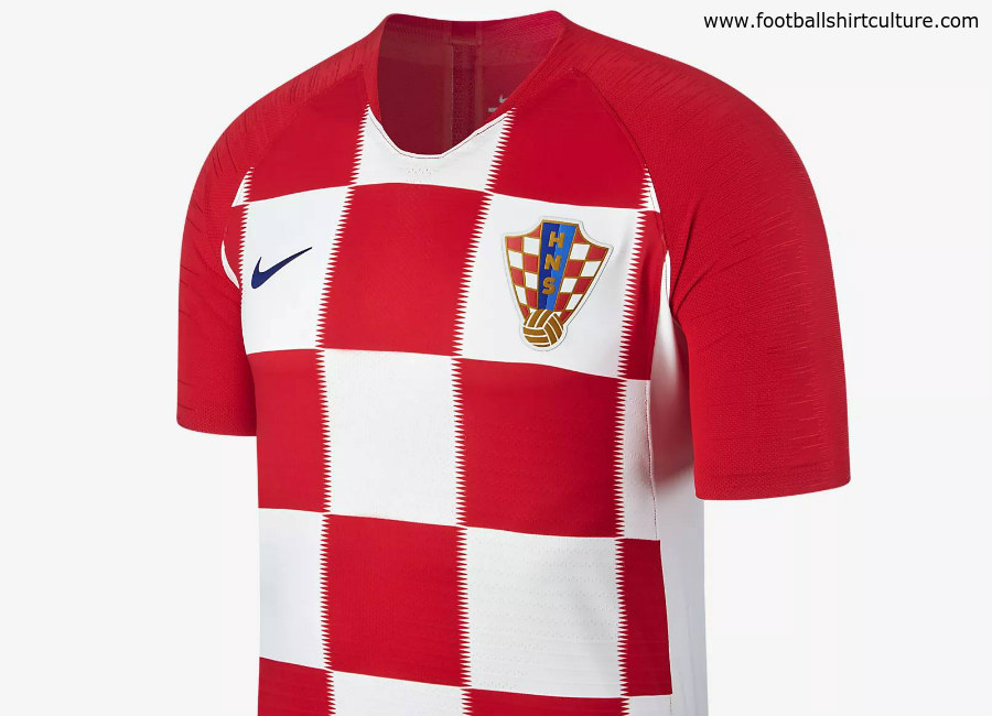 Croatia 2018 World Cup Nike Home Kit  94da0d299