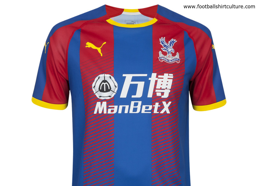 9d23c87e238 Crystal Palace 2018-19 Puma Home Kit | 18/19 Kits | Football shirt blog