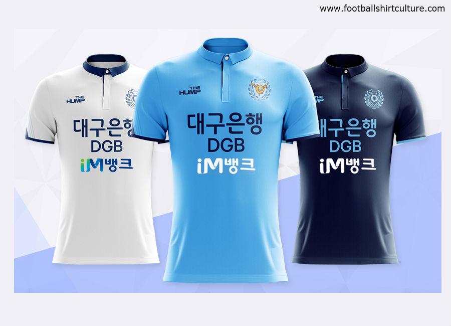 Daegu FC 2018 The Hump Football Kits