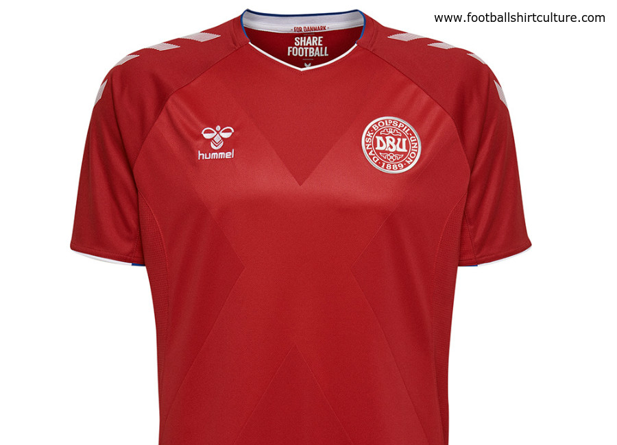 Denmark 2018 World Cup Hummel Home Kit