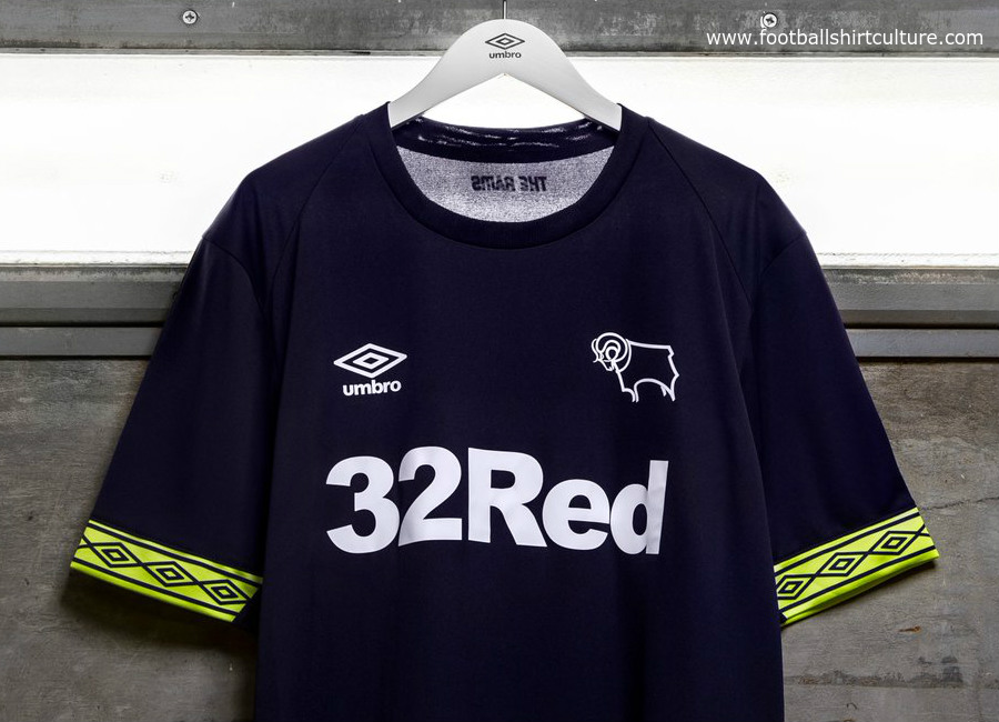 Derby County 2018-19 Umbro Away Kit