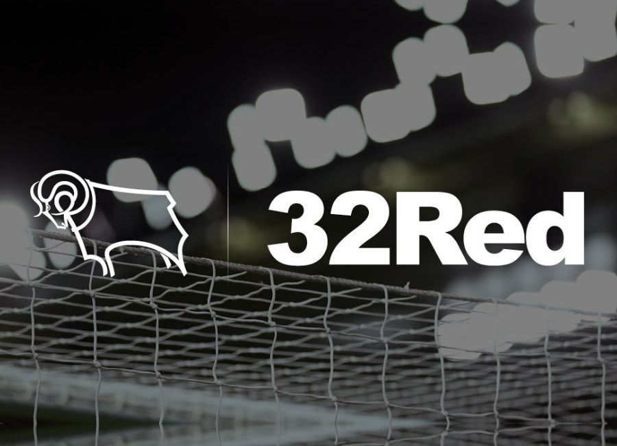 Derby County Announce 32Red Shirt Sponsorship Deal