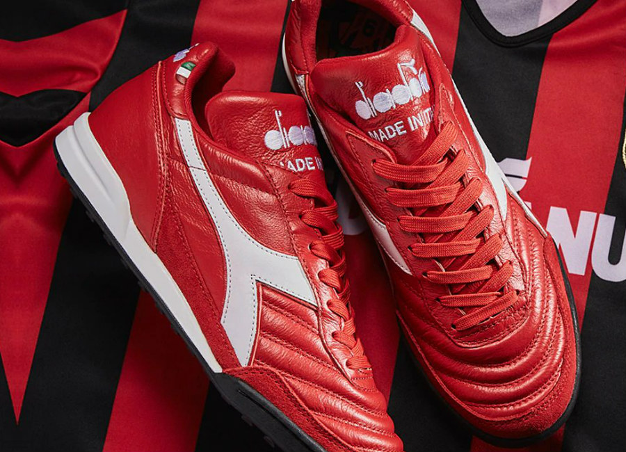 Diadora Golden Boy TF George Weah - Ferrari Red / Italy White