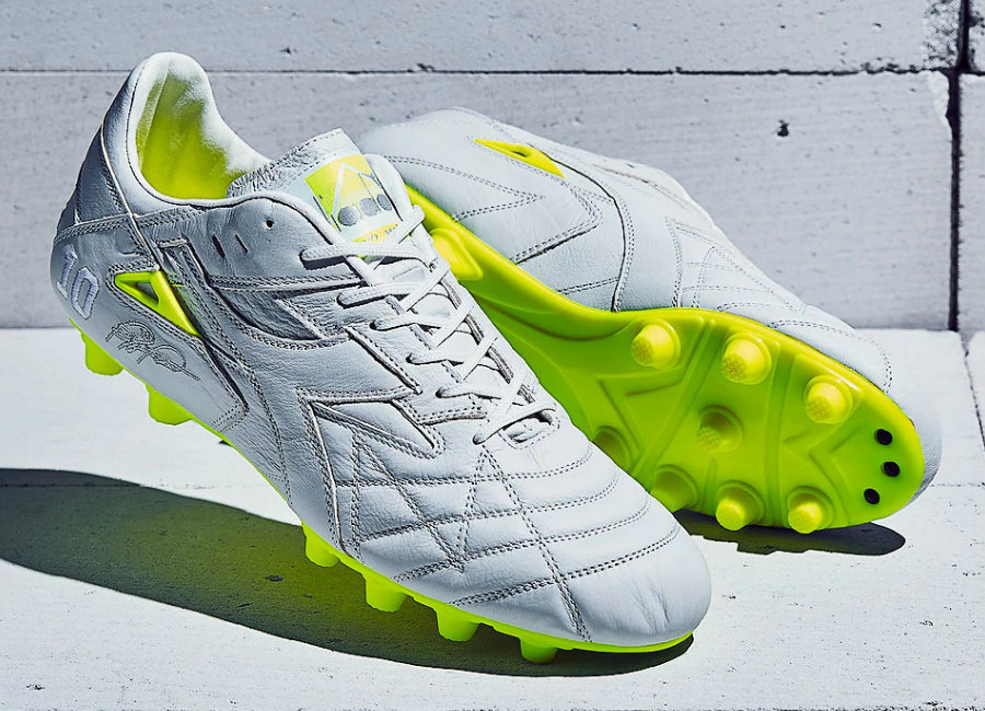 Diadora Match Winner Italy OG MDPU - White / Fluo Yellow