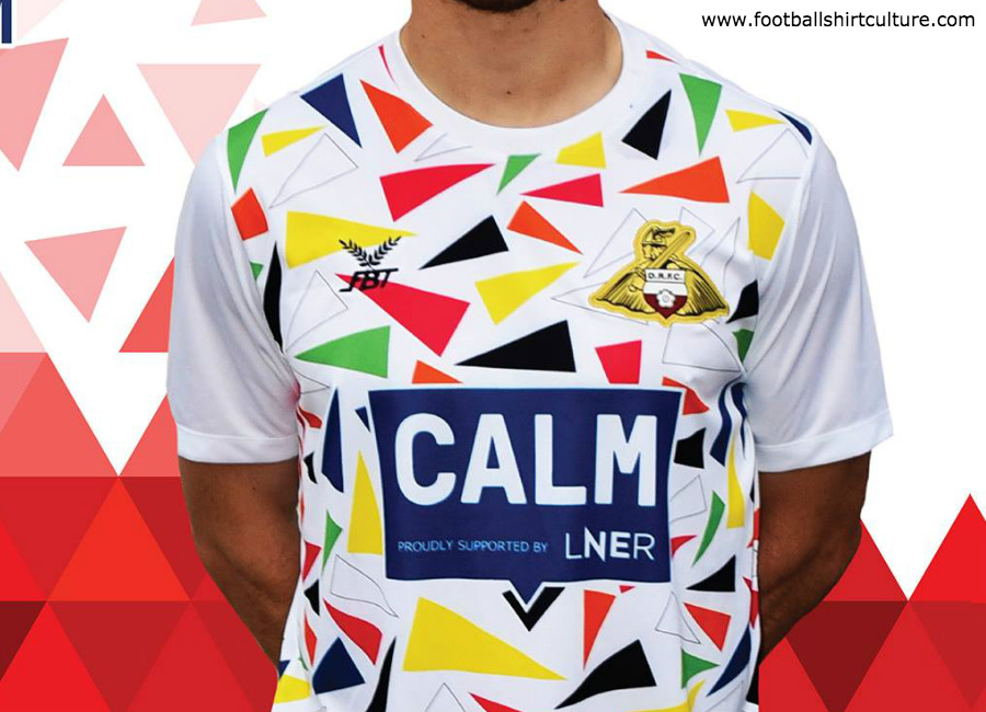 Doncaster Rovers 2018 FBT CALM Charity Third Kit