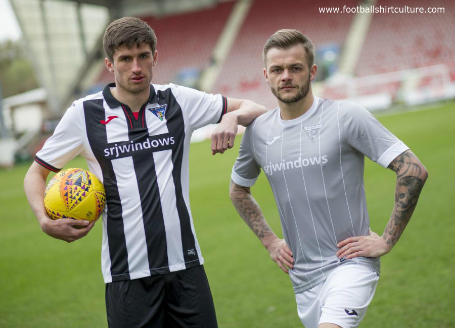 Dunfermline Athletic 2018-19 Home & Away Kits