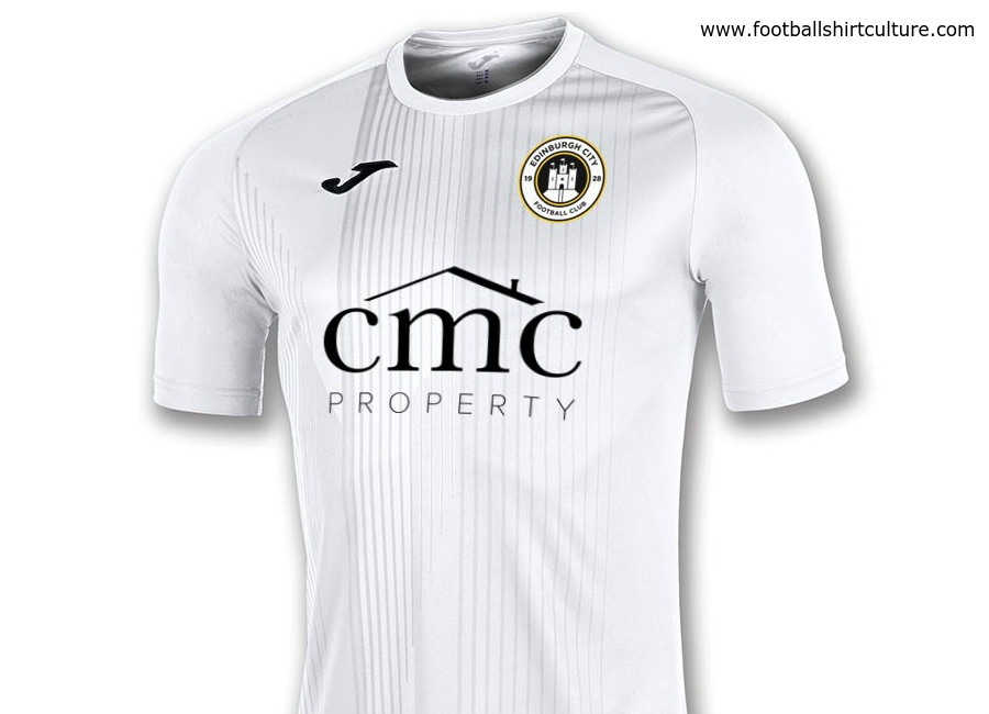 Edinburgh City 2018-19 Joma Home Kit