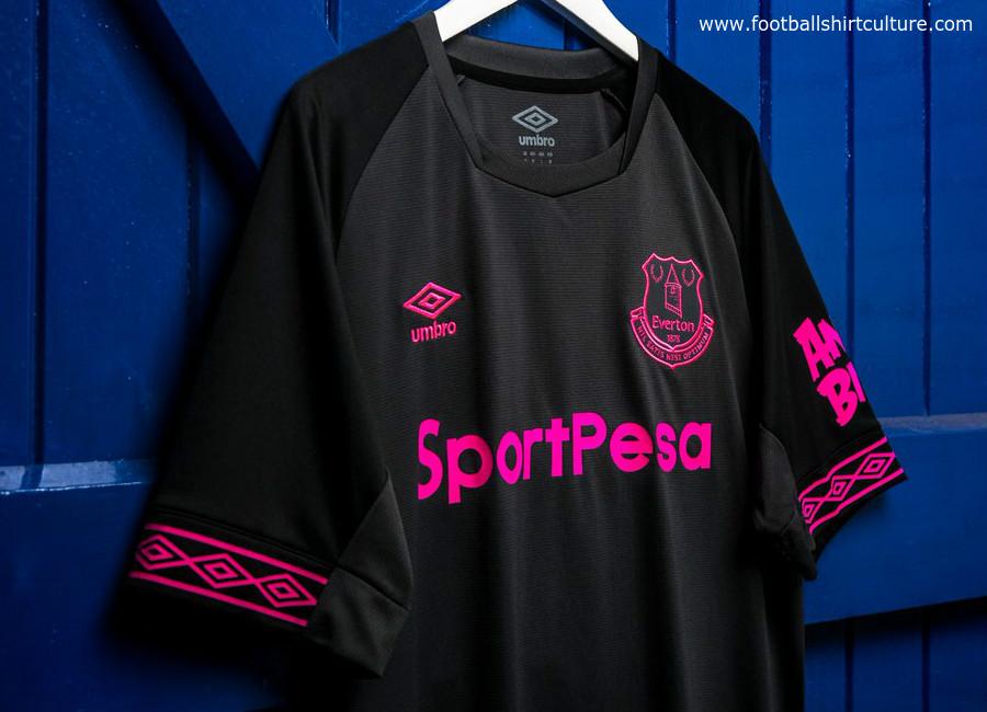 new concept 3cd03 b0e8a Everton 2018-19 Umbro Away Kit | 18/19 Kits | Football shirt ...