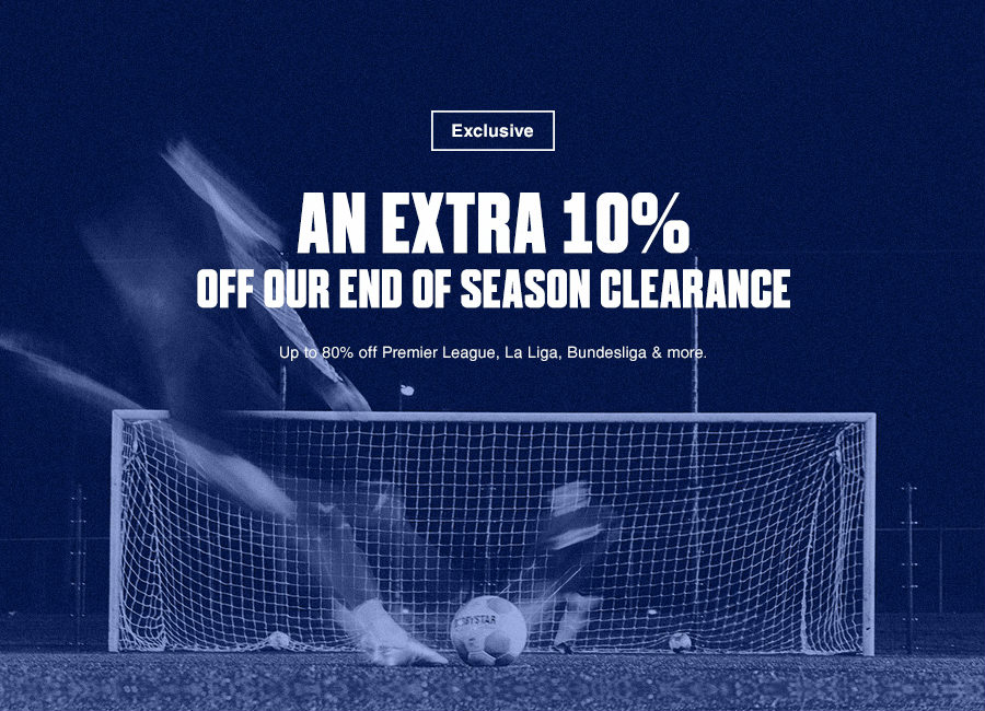 Extra 10% Off End Of Season Clearance - Up To 80% Off