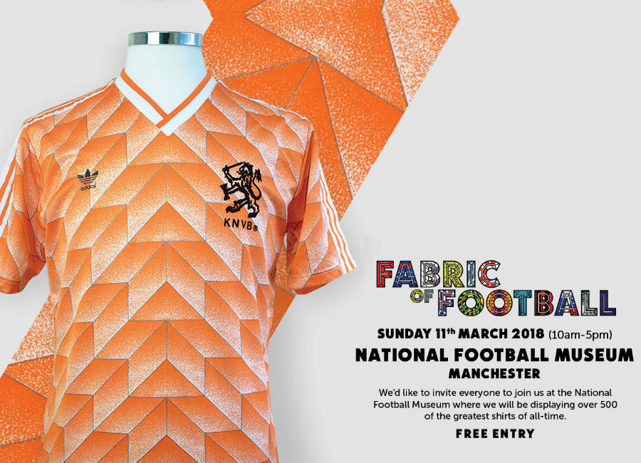 Fabric Of Football Exhibition - Classic Football Shirts