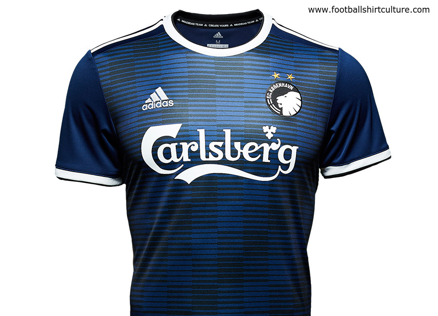 F.C. Copenhagen - replace the blue with red and this would make a nice away  kit for us cecfc9491