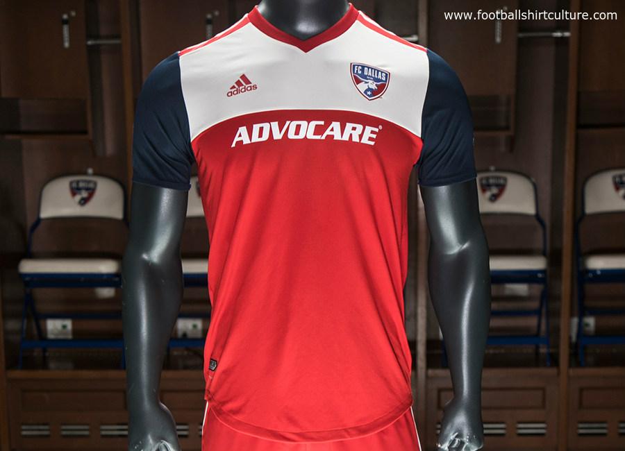 59e3f4b0e FC Dallas 2018 Adidas Home Kit   17/18 Kits   Football shirt blog