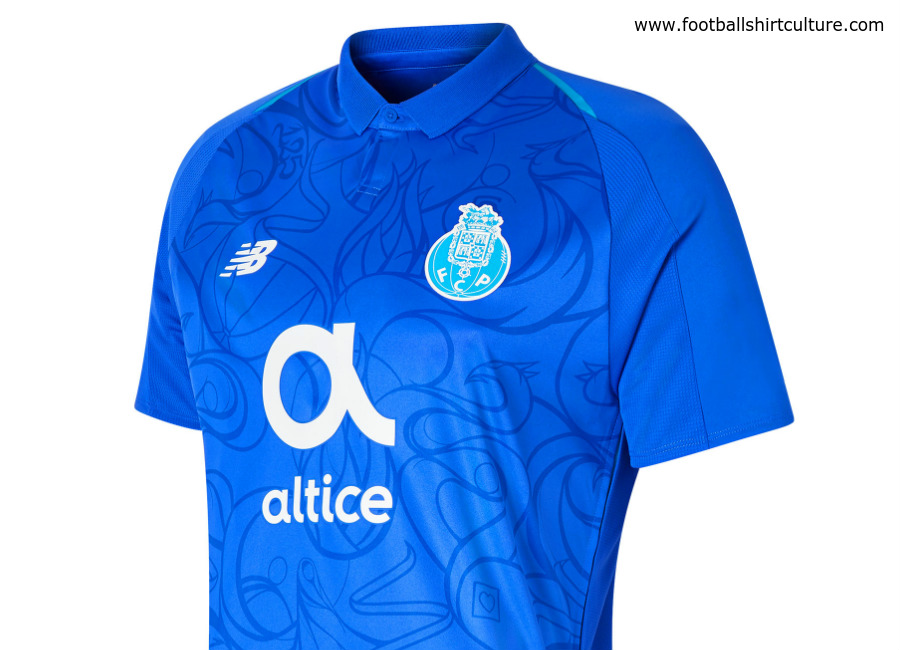 FC Porto 2018-19 New Balance Third Kit