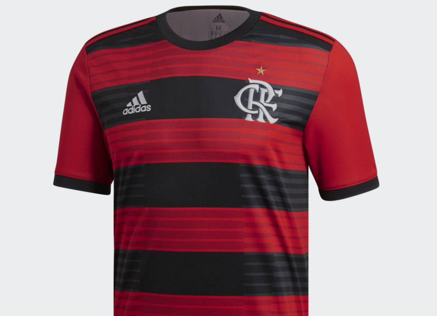 Flamengo 2018 Adidas Home Kit