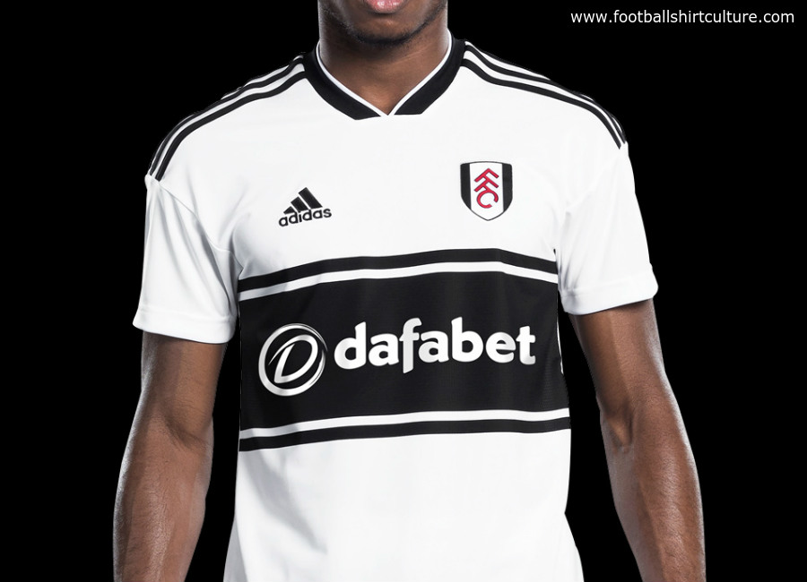 Fulham 2018-19 Adidas Home Kit