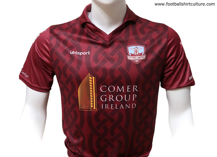 Galway United 2018 Uhlsport Home Kit