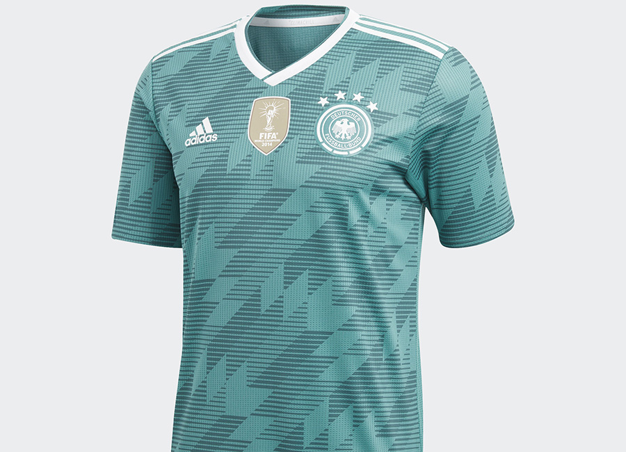 Germany 2018 World Cup Adidas Away Kit