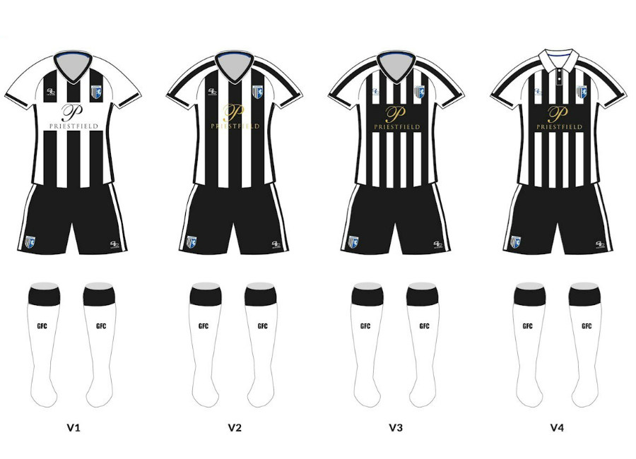 Gillingham 125-year Anniversary Kit Vote