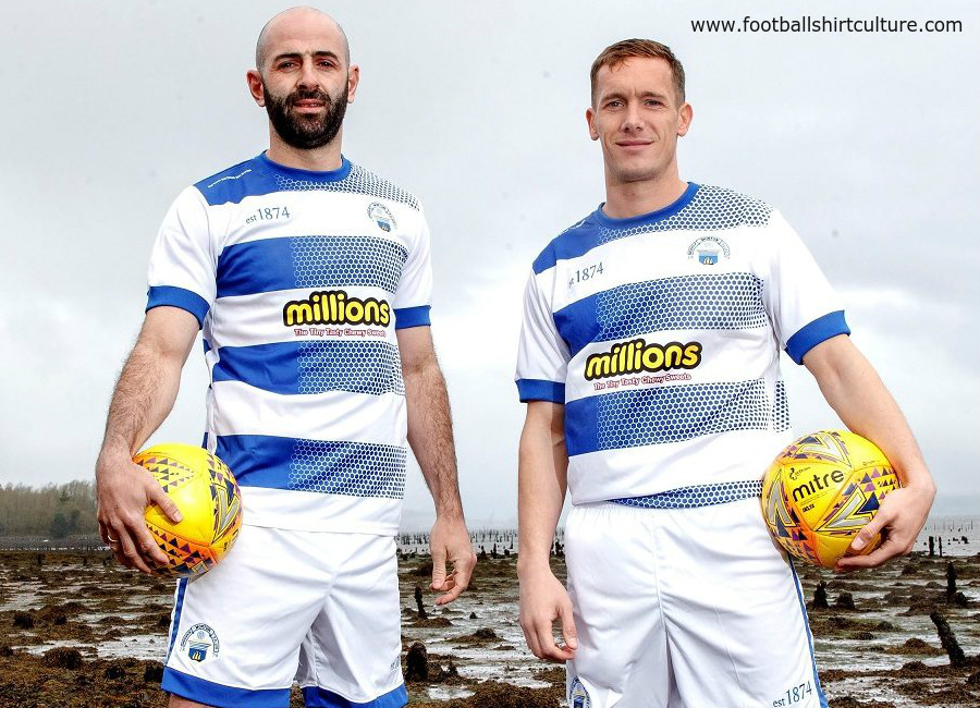Greenock Morton 2018/20 est1874 Home Kit