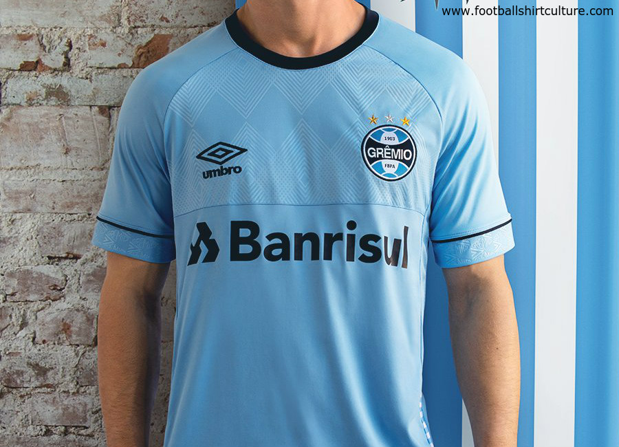 Gremio 2018 Charrúa Umbro Nations Shirt