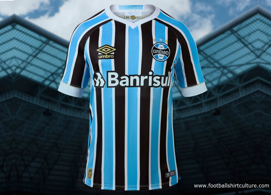 Grêmio 2018 Umbro Home Kit