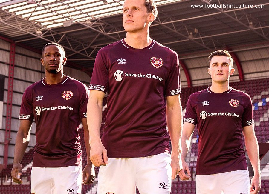 Hearts 2018-19 Umbro Home Kit