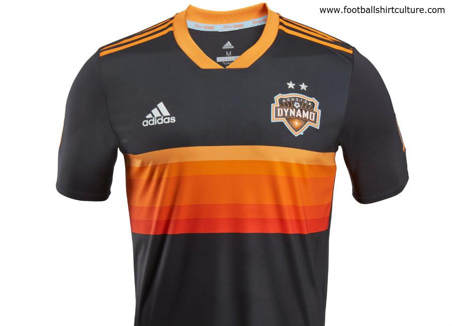 Houston Dynamo 2018 Adidas Away Kit