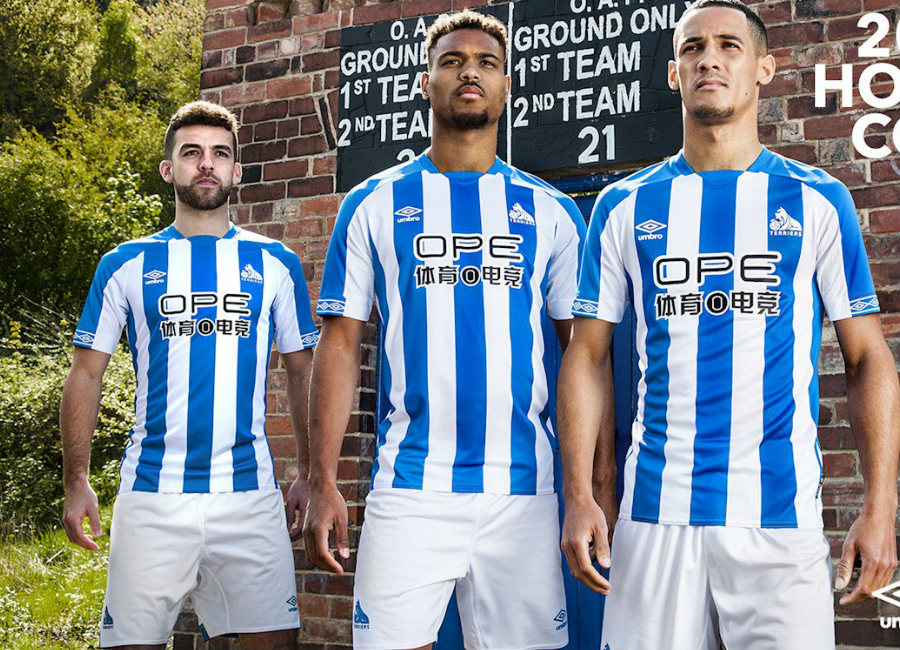 Huddersfield Town 2018-19 Umbro Home Kit