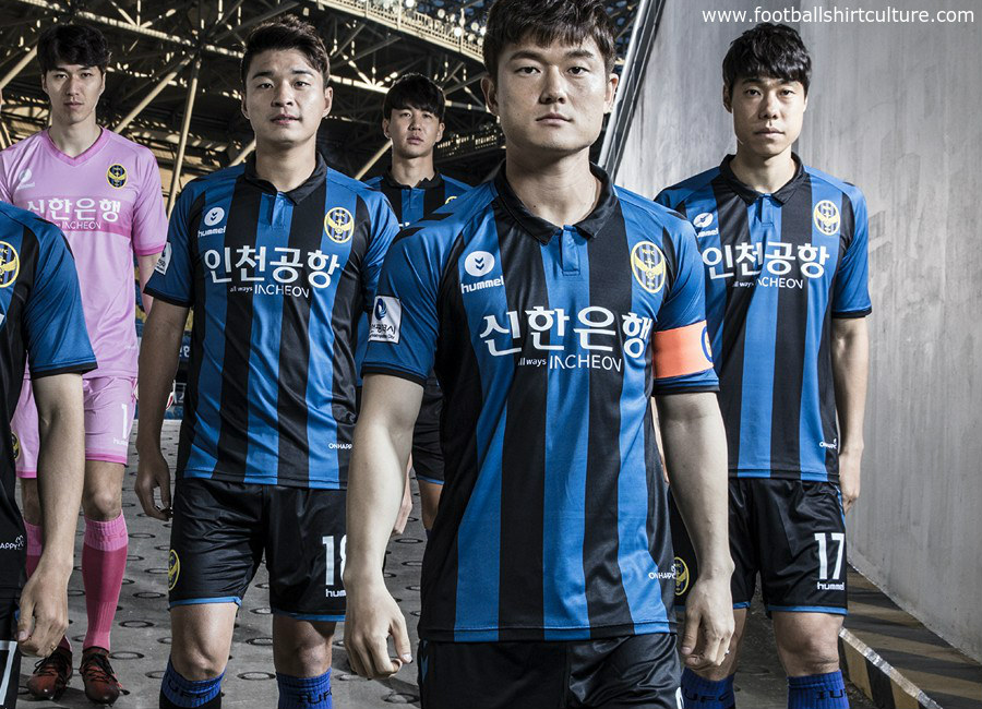 Incheon United 2018 Hummel Home Kit