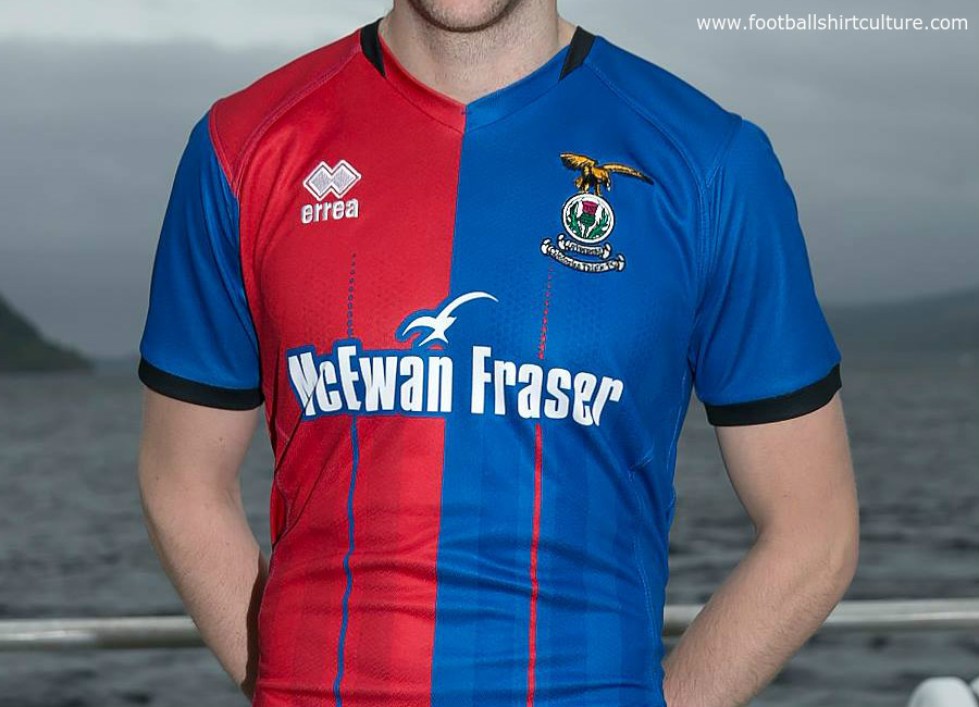 Inverness CT 18/19 Errea Home Kit