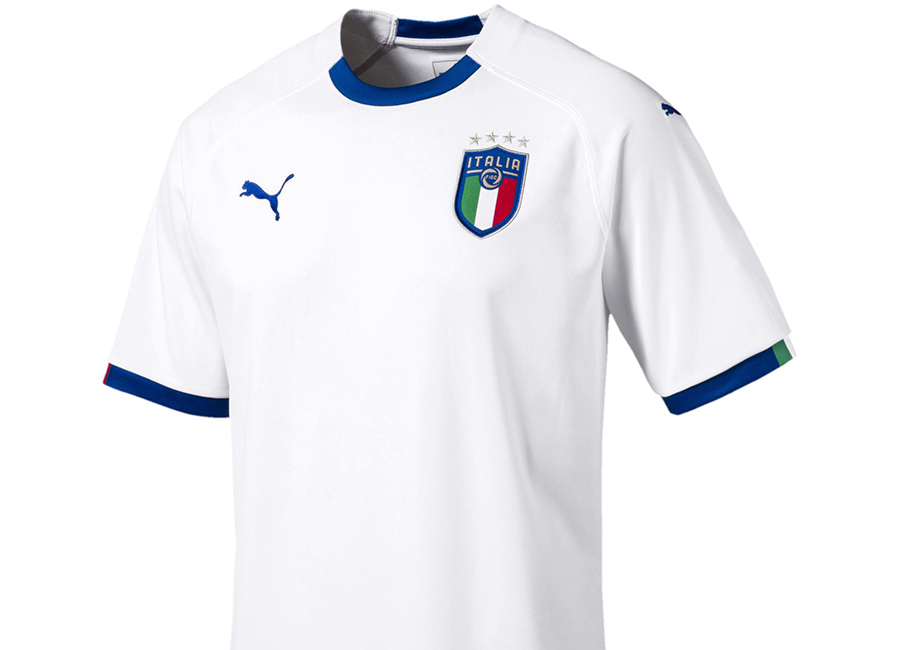Italy 2018 World Cup Puma Away Kit