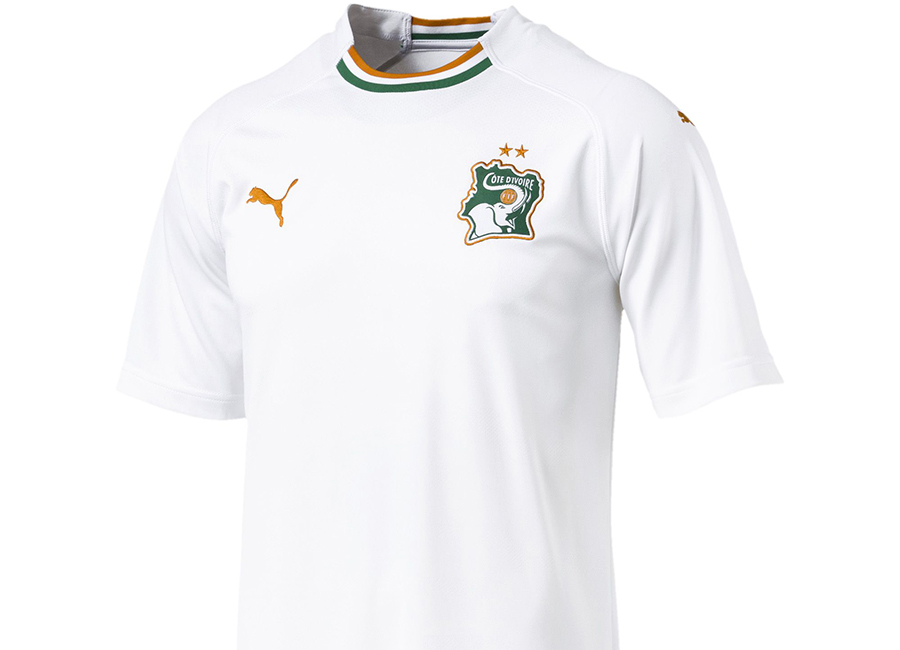 Ivory Coast 2018 Puma Away Shirt