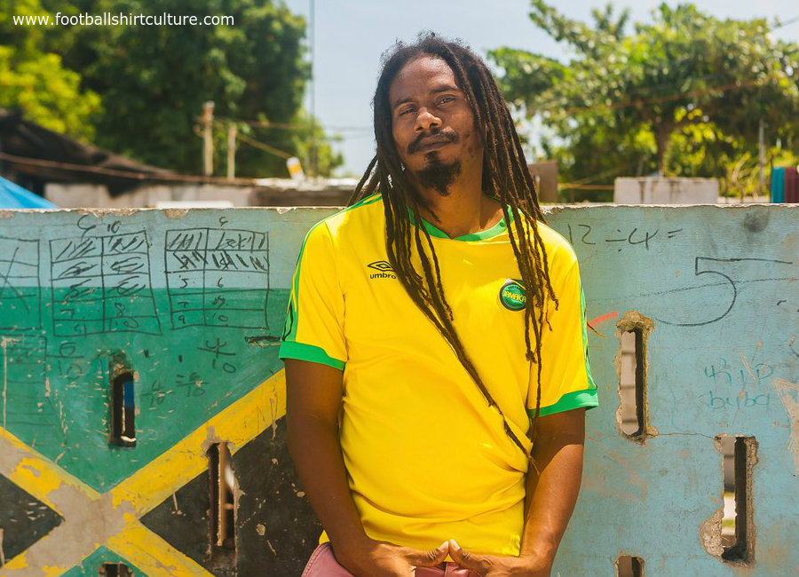 Jamaica 2018-19 Umbro Home Kit