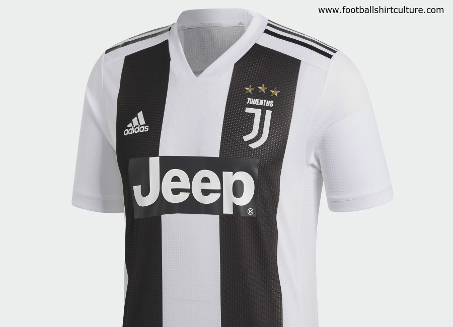 Juventus 2018-19 Adidas Home Kit