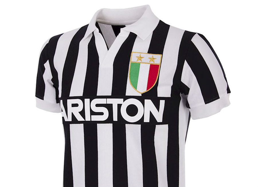 Juventus 1984-85 Home Copa Retro Shirt