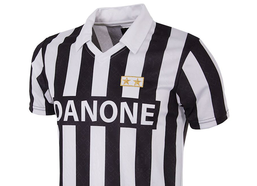 Juventus 1992-93 Coppa UEFA Retro Shirt