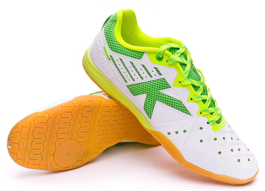 Kelme Feline 6.0 Shoes - White / Lime