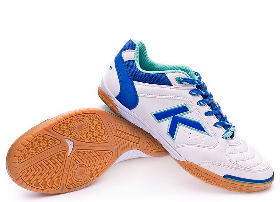 Kelme Precision Shoes - White / Royal Blue
