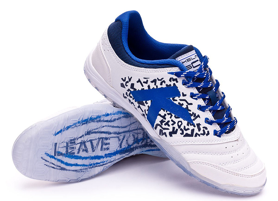 Kelme Subito 6.0 Shoes - White / indigo
