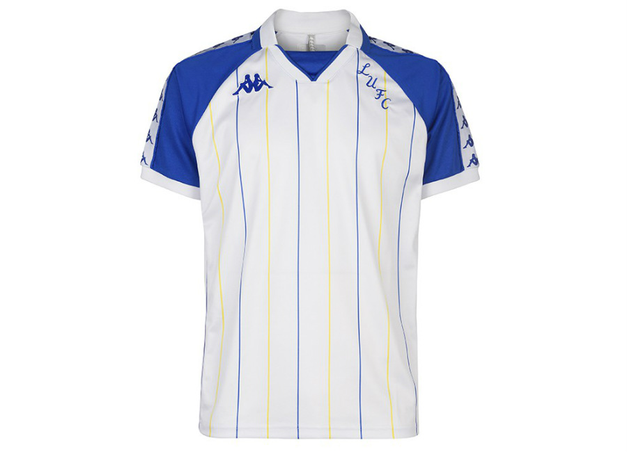 Leeds United 18/19 Kappa Retro Jersey - Blue