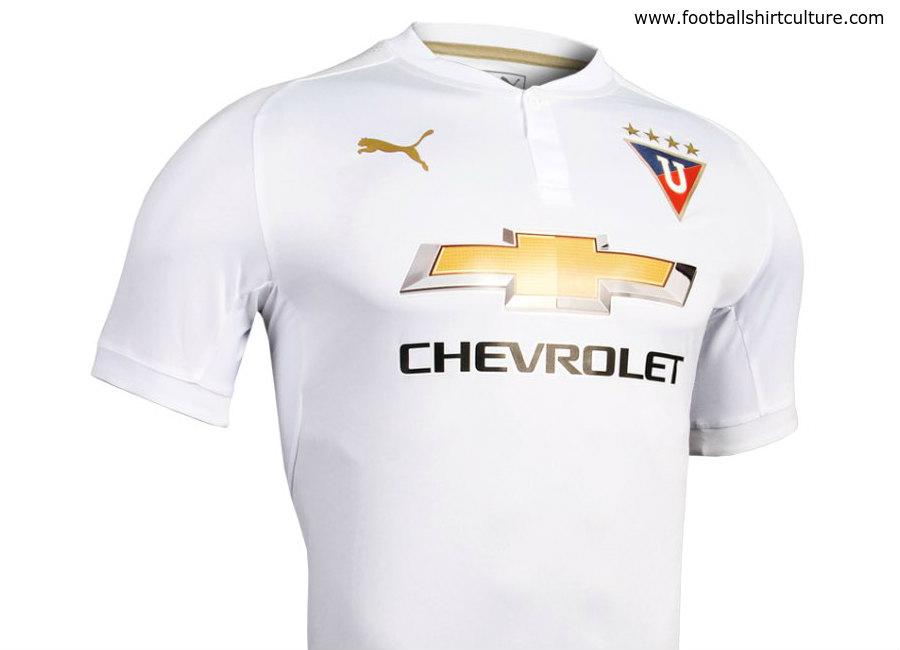 T Home De liga de quito 2018 home kit 17 18 kits football shirt