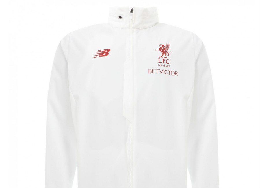 Liverpool 2018 New Balance White Motion Rain Jacket