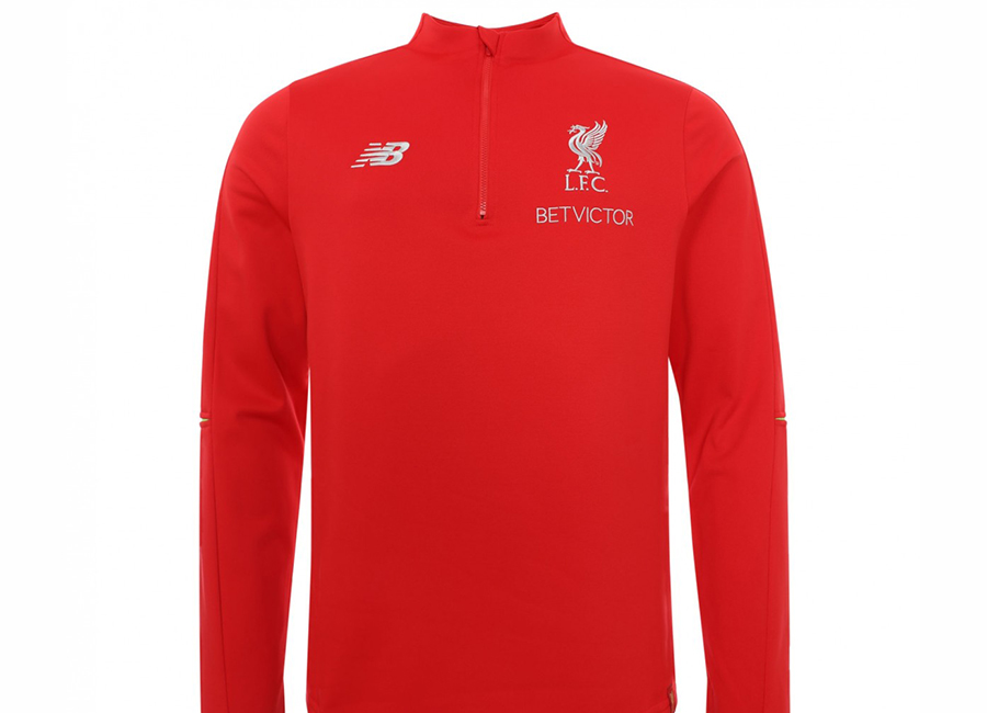 Liverpool 18/19 New Balance Training Hybrid Sweater - Red