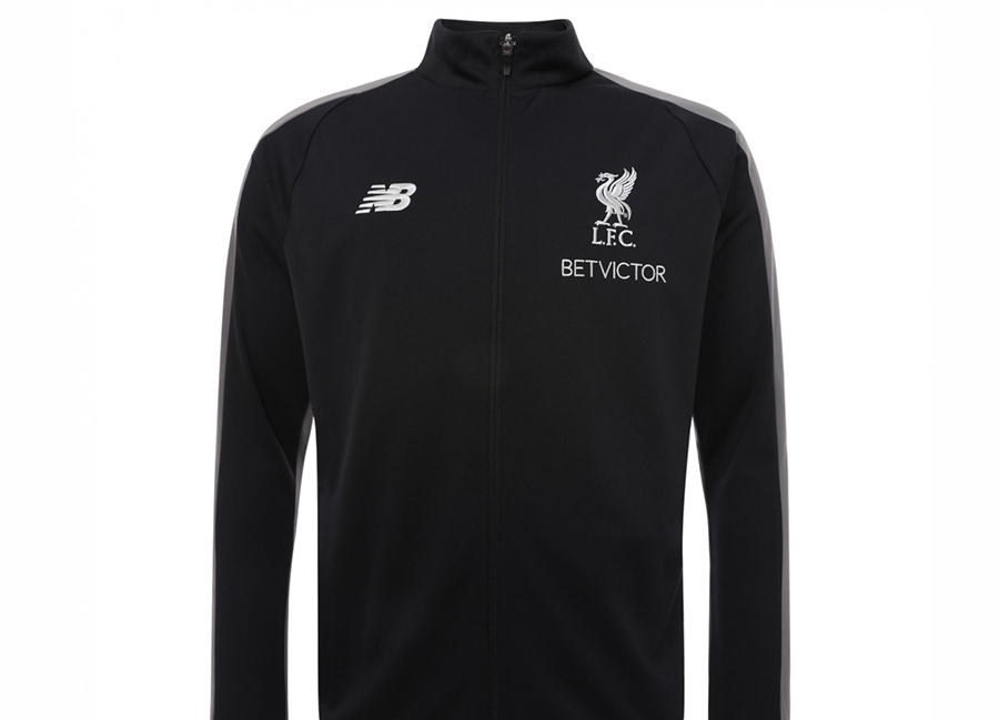 Liverpool 18/19 New Balance Training Presentation Jacket - Black