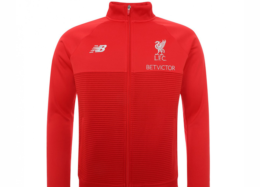 9f86607d0 Liverpool 18 19 New Balance Training Walk Out Jacket - Red