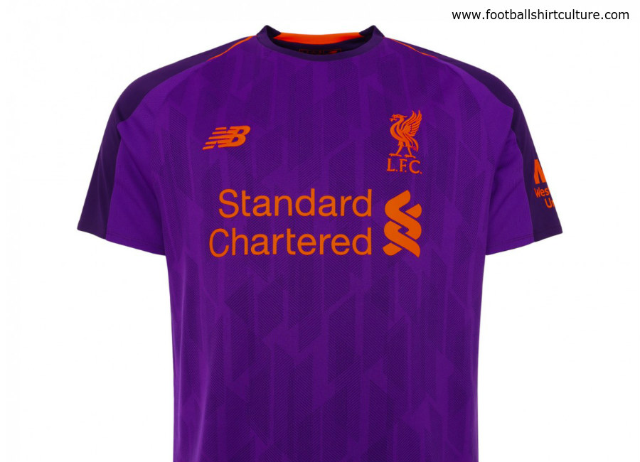 promo code 6fca7 8cfb4 Liverpool 2018-19 New Balance Away Kit | 18/19 Kits ...